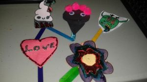 Arts and crafts bookmarks