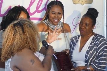 (Left to right) Maui B., Marie Danee of The Curvy Fashionista, Nicci Gilbert & Tanara Burke
