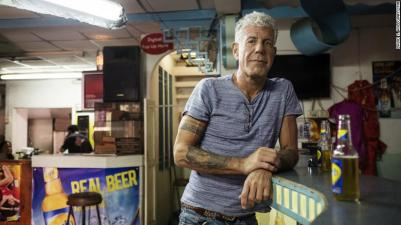 Anthony Bourdain (image courtesy of CNN)