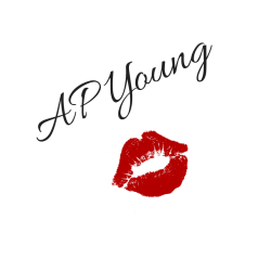 AP Young signature with kiss print.